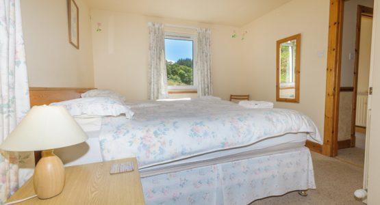 Barn holiday cottage bedroom