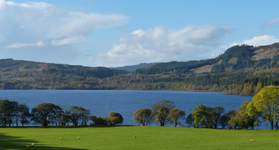 Stable - a hint of autumn colour over Loch Awe