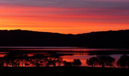 Sunset over Loch Awe