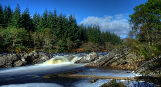 Falls on the River Orchy