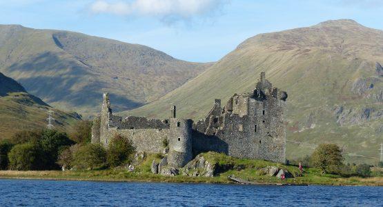 Kilchrun Castle, Loch Awe, Argyll