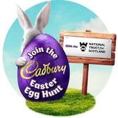 Cadburys Easter Egg Hunt at the National Trust for Scotland at Crarae (near Inveraray) and Arduaine (near Oban)